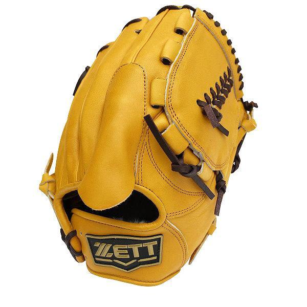 ZETT Pro Model 11.5 inch Tan Pitcher Glove