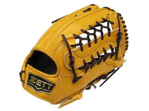ZETT Pro Model 13 inch Tan Outfielder Glove