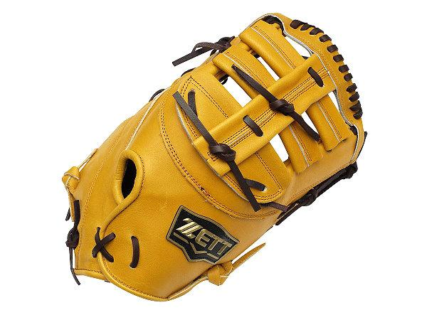 ZETT Pro Model 12.5 inch Tan First Base Mitt