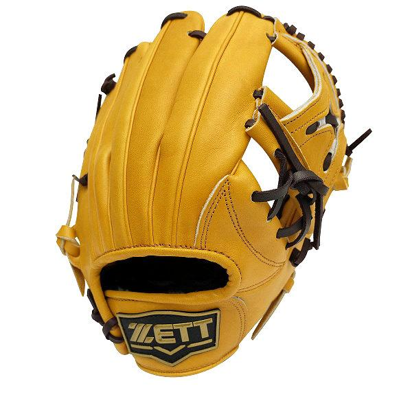 ZETT Pro Model 11.25 inch Tan Infielder Glove