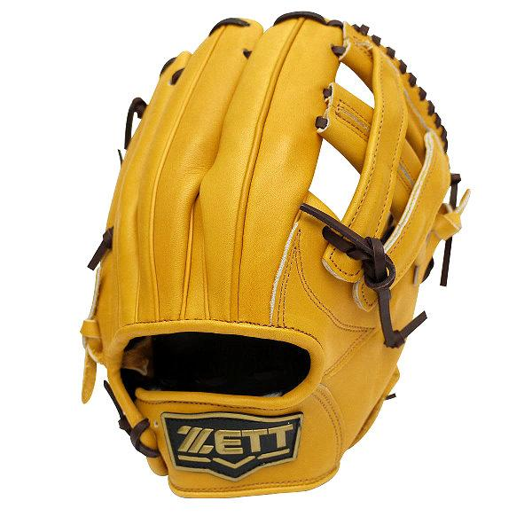 ZETT Pro Model 11.5 inch Tan Infielder Glove