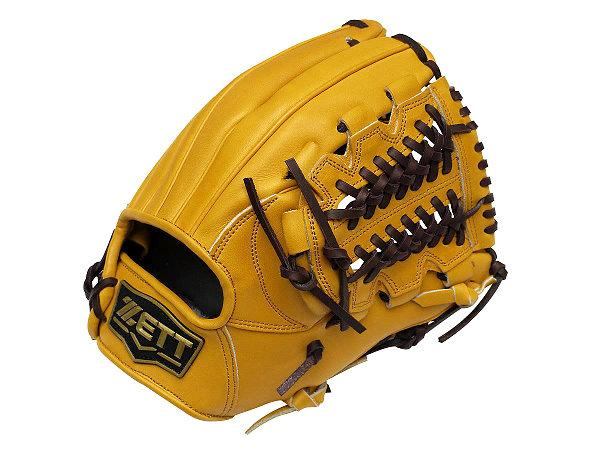 ZETT Pro Model 11.75 inch Tan Infielder Glove