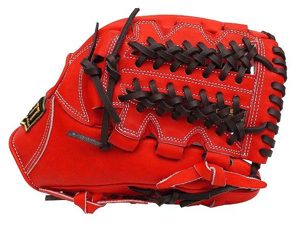 ZETT Pro Elite 12 inch Japan Red Infielder Glove