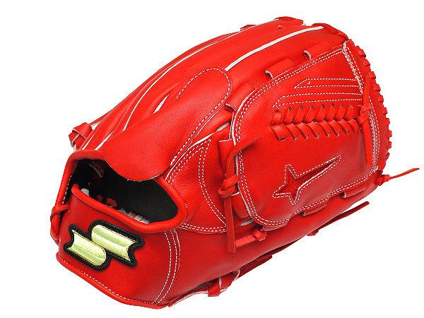 SSK Green Series 12 inch Red Pitcher Glove