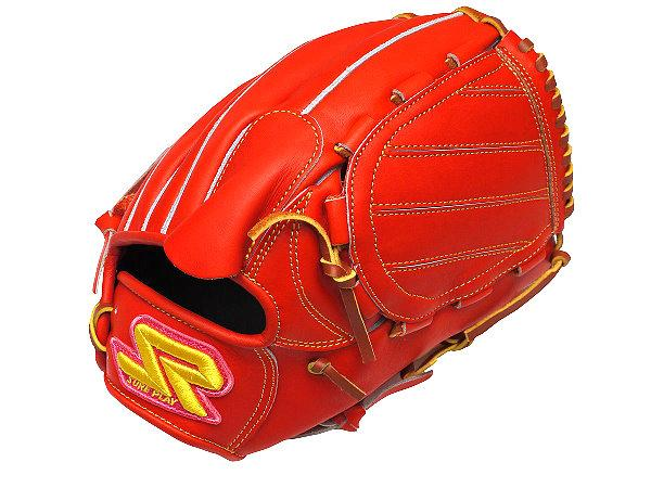 SUREPLAY Dima 12 inch Orange Red Pitcher Glove