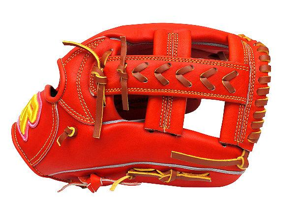 SUREPLAY Dima 12 inch Orange Red Infielder Glove