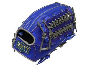 ZETT Pro Model 12.5 inch Outfielder Glove - Royal